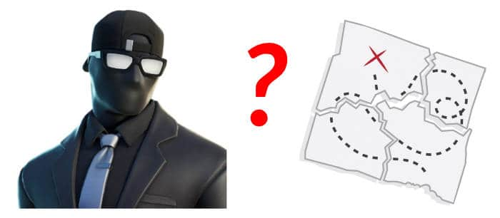 A hidden agent and a puzzle trail map!